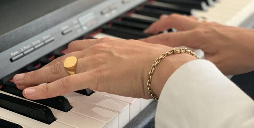 Klaverundervisning med Amnda Wium